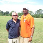 Enio Faria and Coach Randle