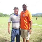 Jorge Luiz Da Silveira & Coach Randle